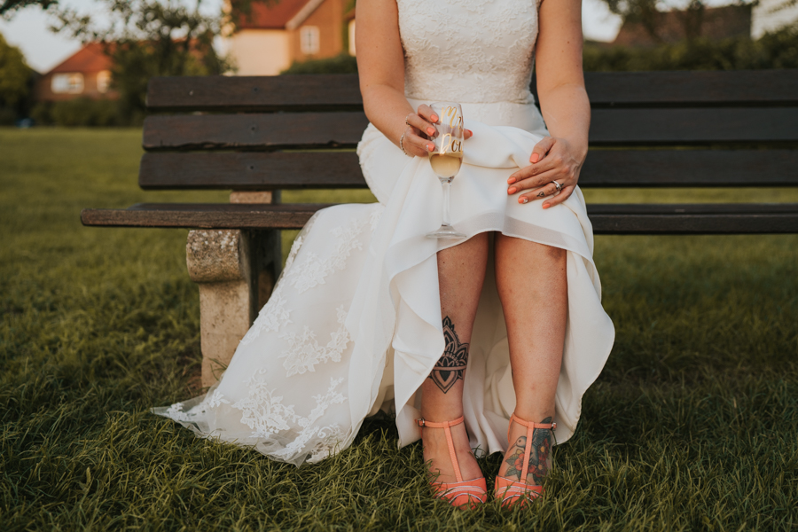 Golden hour wedding pics for a gorgeous colchester wedding, with Photography by Grace (23)