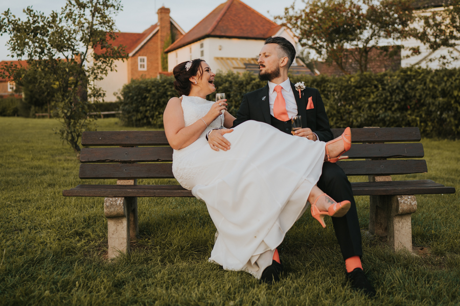 Golden hour wedding pics for a gorgeous colchester wedding, with Photography by Grace (24)