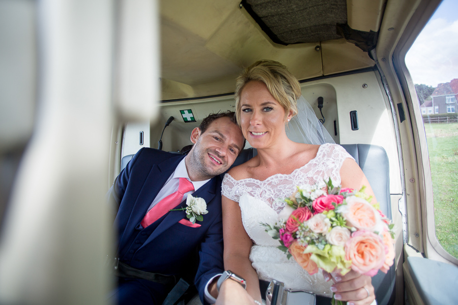 A helicopter treat for Laura & Matt's Upcote Barn wedding with Martin Dabek Photography (8)