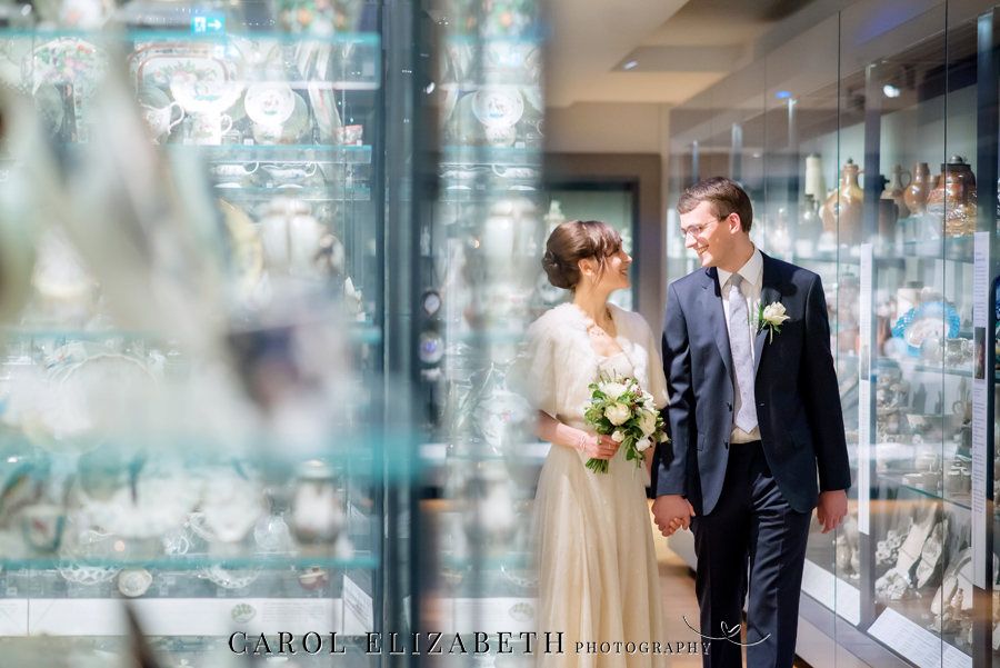 See the Ashmolean museum transformed for a unique wedding celebration with images by Carol Elizabeth Photography (15)
