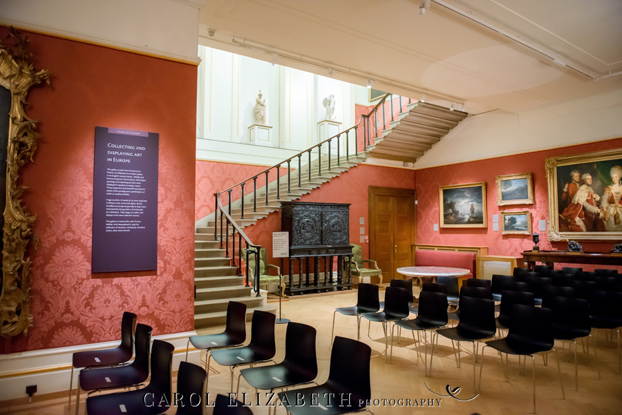 See the Ashmolean museum transformed for a unique wedding celebration with images by Carol Elizabeth Photography (18)