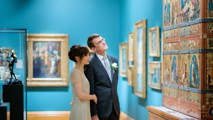 See the Ashmolean museum transformed for a unique wedding celebration with images by Carol Elizabeth Photography (19)