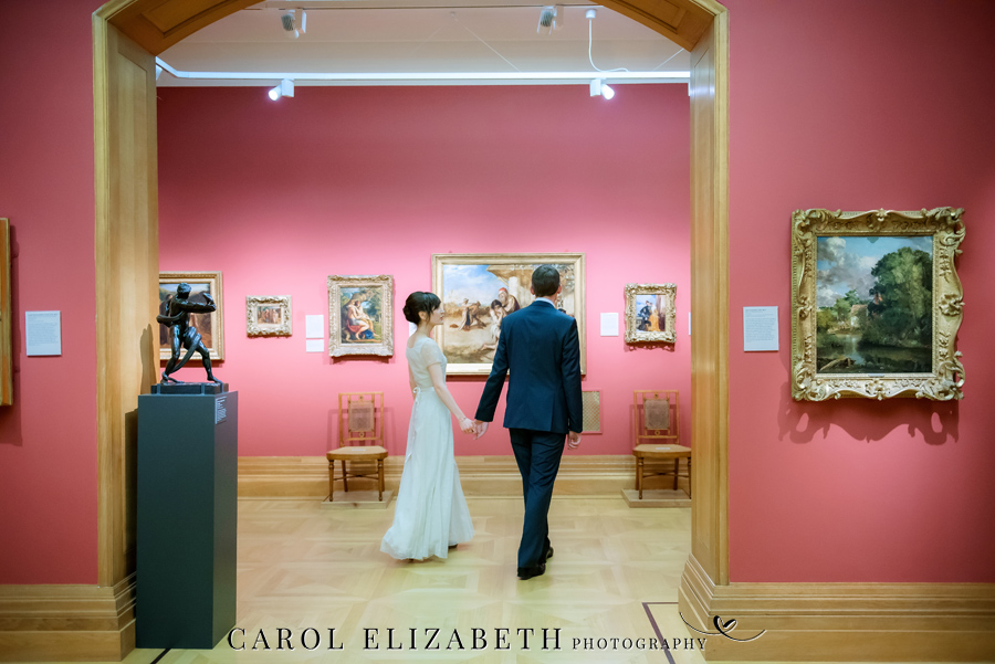 See the Ashmolean museum transformed for a unique wedding celebration with images by Carol Elizabeth Photography (20)