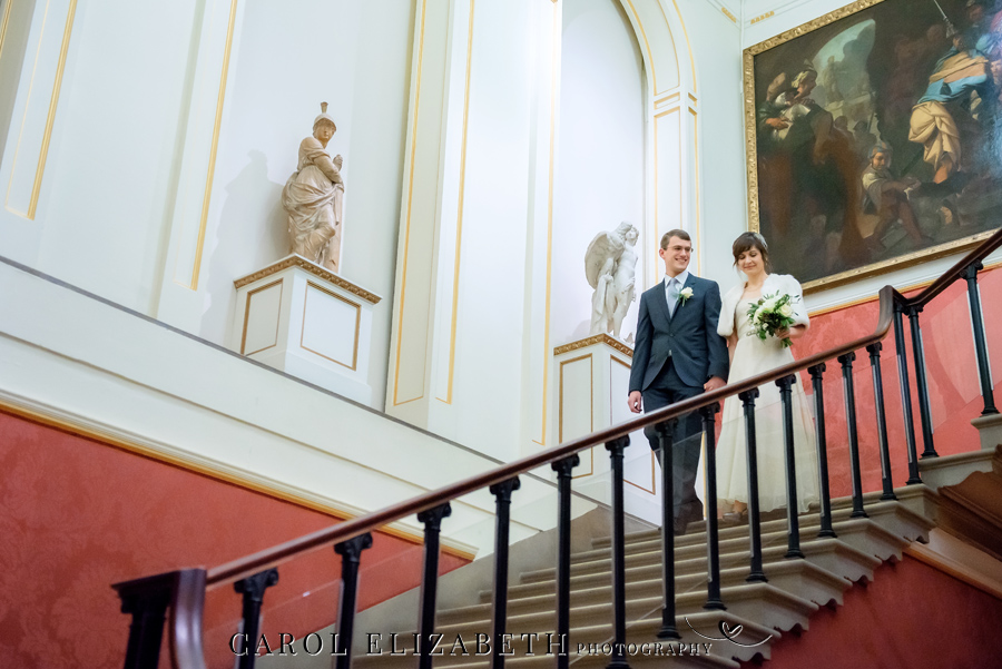See the Ashmolean museum transformed for a unique wedding celebration with images by Carol Elizabeth Photography (23)