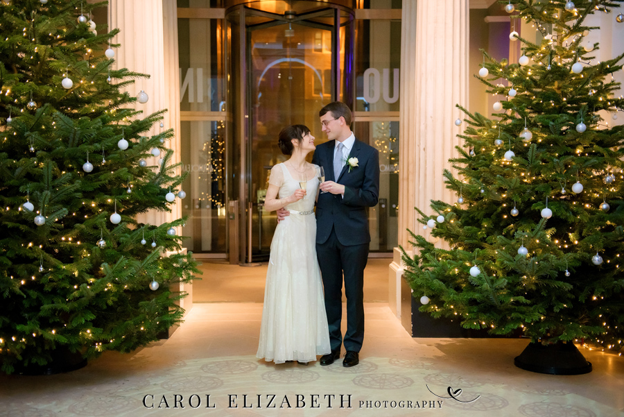 See the Ashmolean museum transformed for a unique wedding celebration with images by Carol Elizabeth Photography (26)