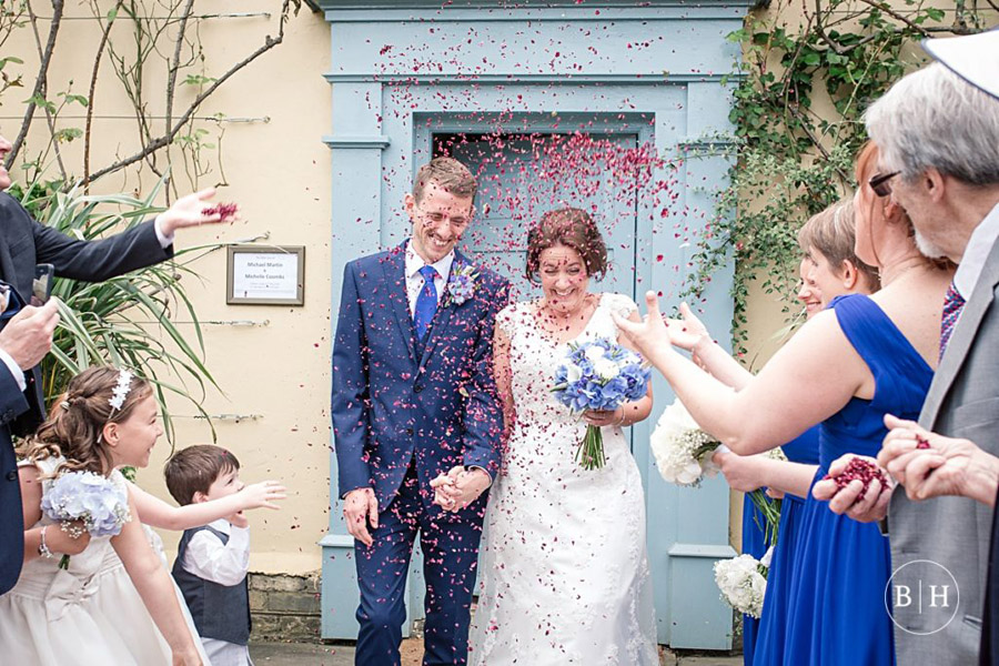 confetti shots by Hertfordshire wedding photographer Becky Harley (5)
