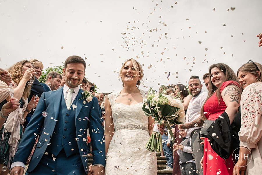 confetti shots by Hertfordshire wedding photographer Becky Harley (3)