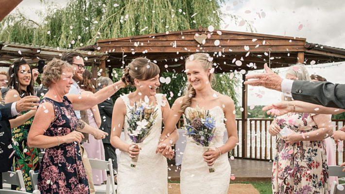 confetti shots by Hertfordshire wedding photographer Becky Harley (2)