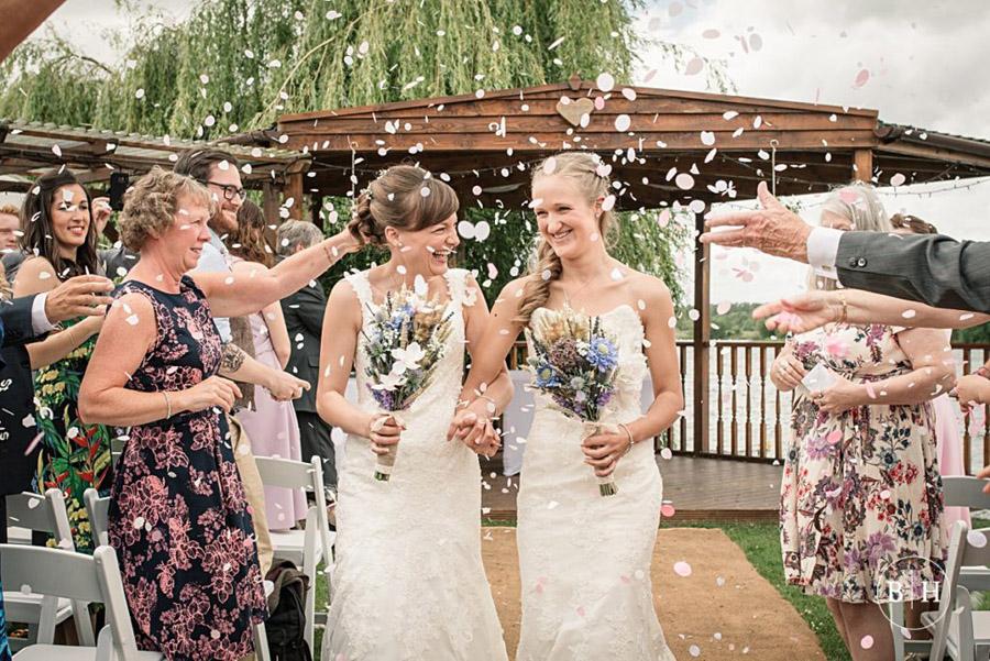 confetti shots by Hertfordshire wedding photographer Becky Harley (2)
