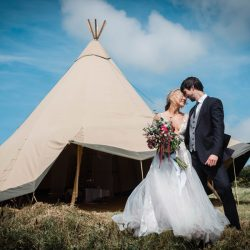 Rugged and beautiful tipi wedding inspiration from Cornwall