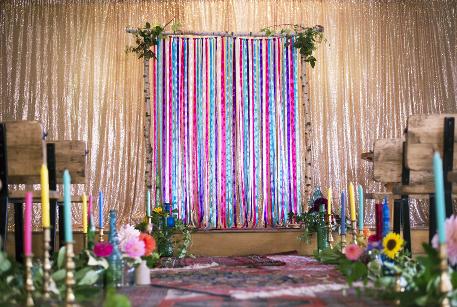 Same sex wedding styling boho chic festival inspiration - image credit Emma Hall Photography (1)