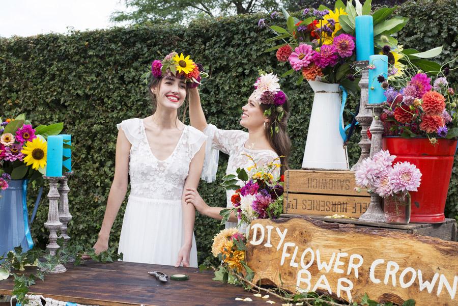 Same sex wedding styling boho chic festival inspiration - image credit Emma Hall Photography (17)