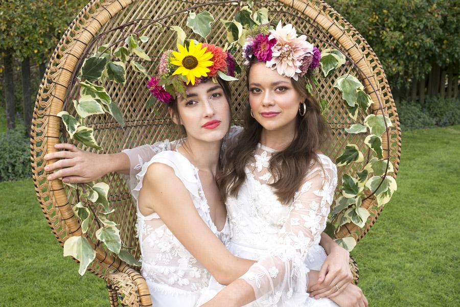 Same sex wedding styling boho chic festival inspiration - image credit Emma Hall Photography (23)