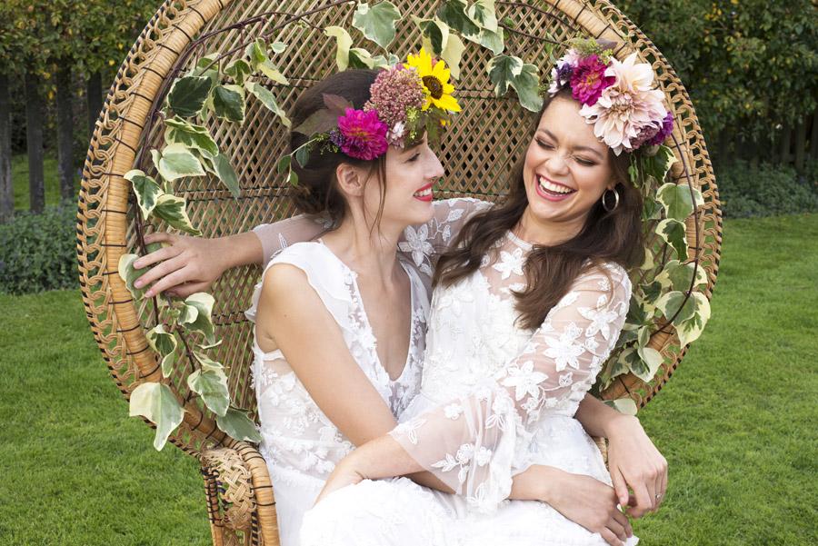 Same sex wedding styling boho chic festival inspiration - image credit Emma Hall Photography (24)