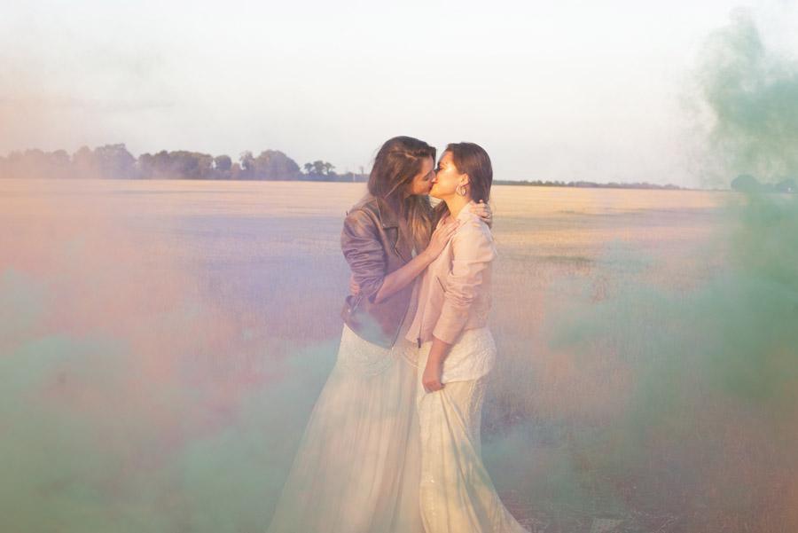 Same sex wedding styling boho chic festival inspiration - image credit Emma Hall Photography (35)
