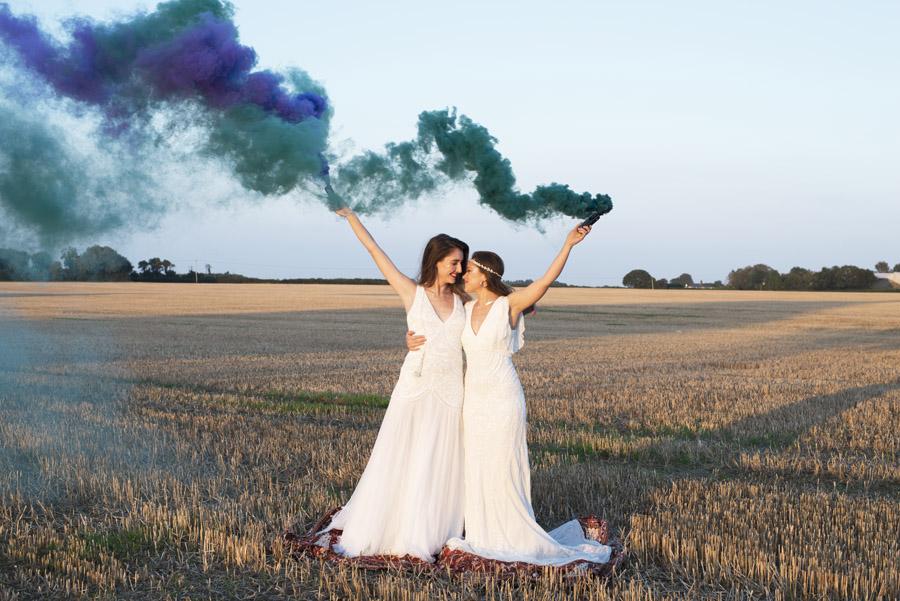 Same sex wedding styling boho chic festival inspiration - image credit Emma Hall Photography (36)