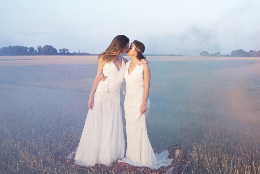 Same sex wedding styling boho chic festival inspiration - image credit Emma Hall Photography (37)