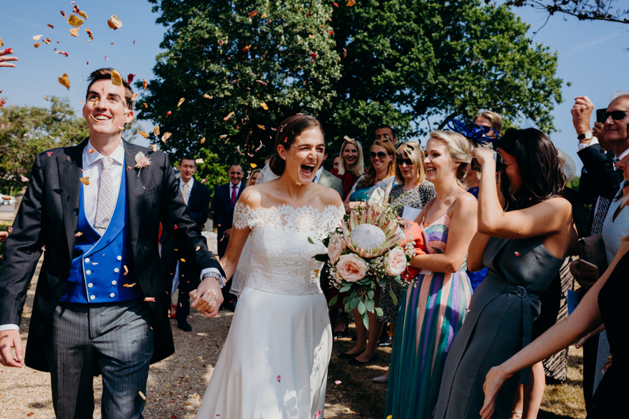 Beard & Mane captured this beautiful summer wedding at West Dean College, Chichester (17)