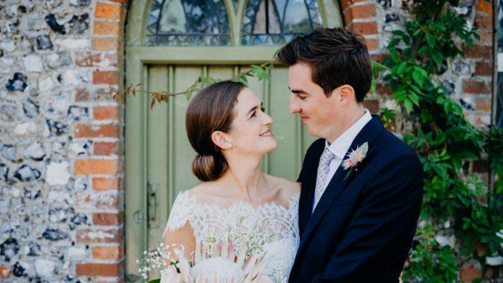 Beard & Mane captured this beautiful summer wedding at West Dean College, Chichester (20)