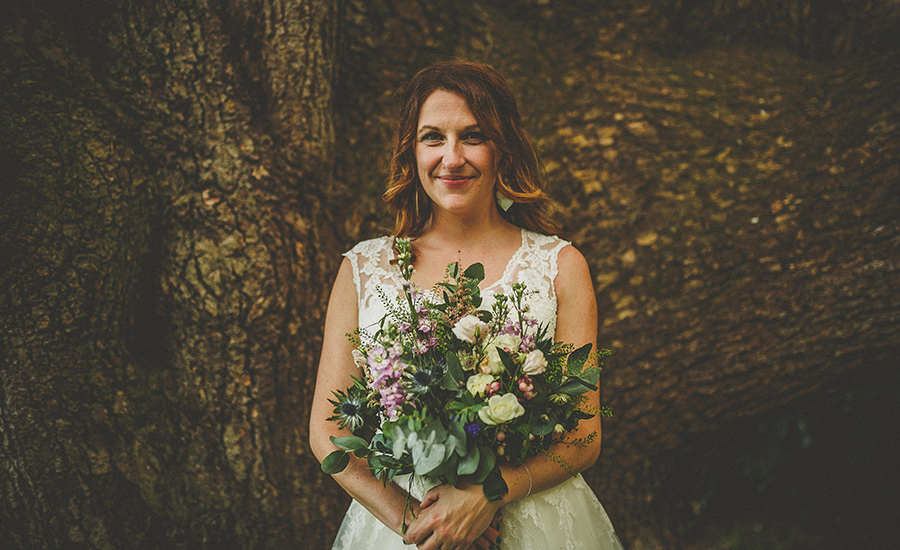 Festival vibes and a gorgeous Devon wedding at Colehayes Park, photo credit Howell Jones Photography (5)