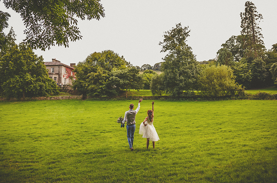 Festival vibes and a gorgeous Devon wedding at Colehayes Park, photo credit Howell Jones Photography (8)