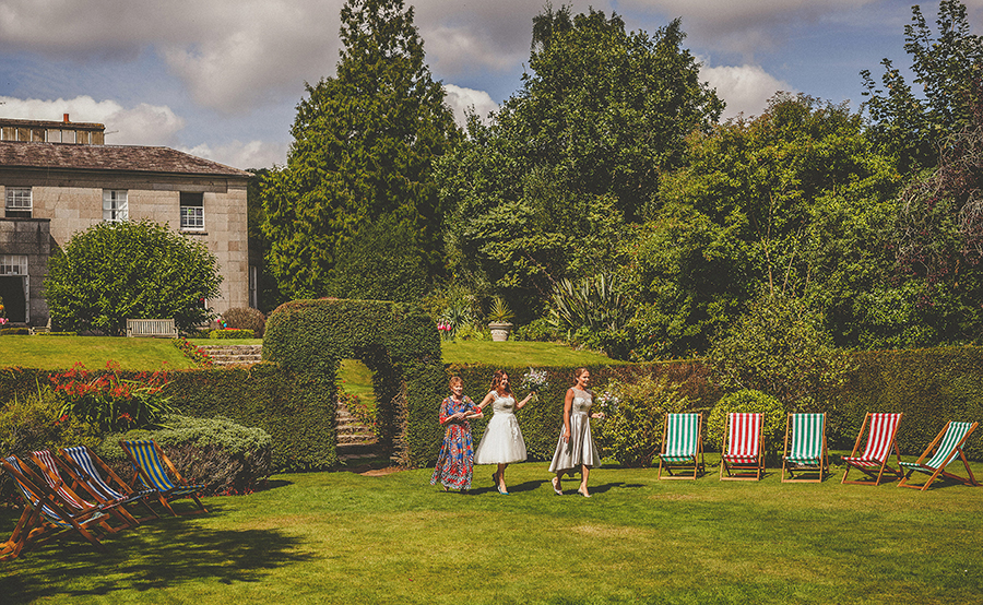 Festival vibes and a gorgeous Devon wedding at Colehayes Park, photo credit Howell Jones Photography (12)