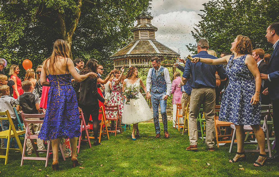 Festival vibes and a gorgeous Devon wedding at Colehayes Park, photo credit Howell Jones Photography (15)