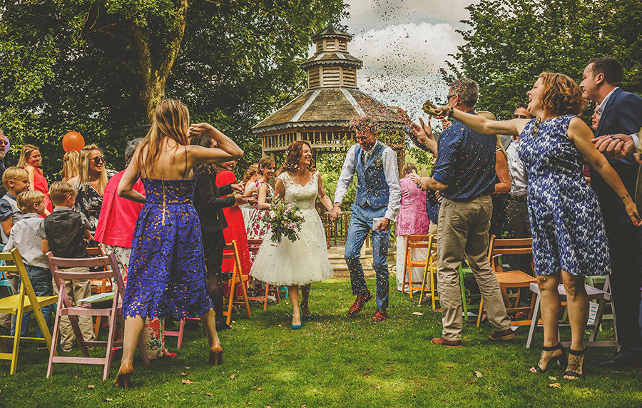 Festival vibes and a gorgeous Devon wedding at Colehayes Park, photo credit Howell Jones Photography (16)
