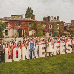 Amy and Chris's amazing festival wedding at Colehayes Park in Devon, with Howell Jones Photography