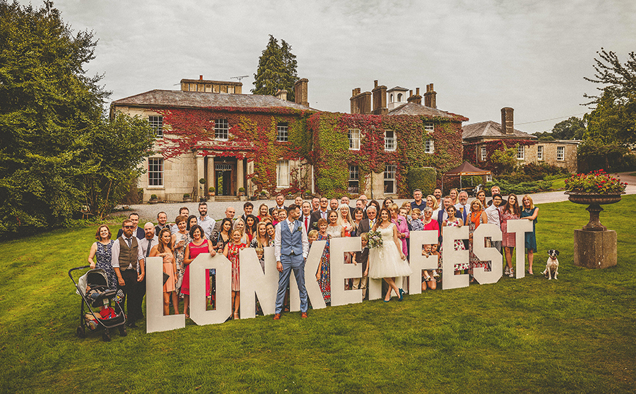 Festival vibes and a gorgeous Devon wedding at Colehayes Park, photo credit Howell Jones Photography (32)