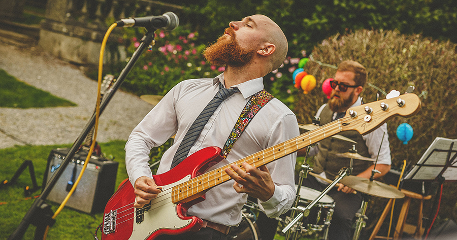Festival vibes and a gorgeous Devon wedding at Colehayes Park, photo credit Howell Jones Photography (36)
