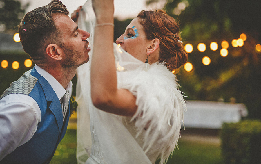 Festival vibes and a gorgeous Devon wedding at Colehayes Park, photo credit Howell Jones Photography (41)