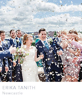 Erika Tanith Newcastle wedding photographer