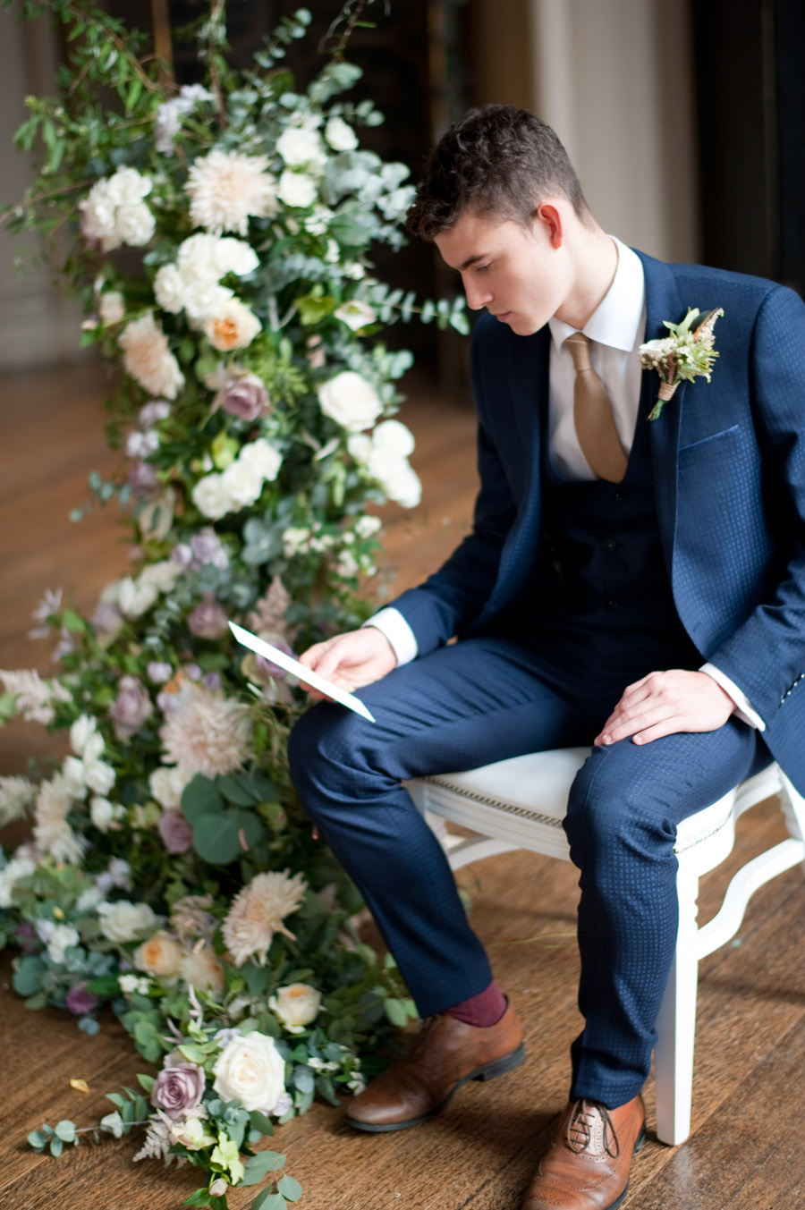Luxe, modern wedding style ideas by Natalie Hewitt, image credit Rachael Connerton Photography (4)