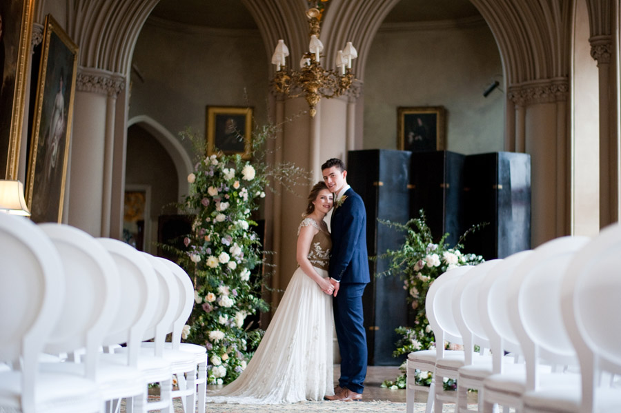 Luxe, modern wedding style ideas by Natalie Hewitt, image credit Rachael Connerton Photography (6)