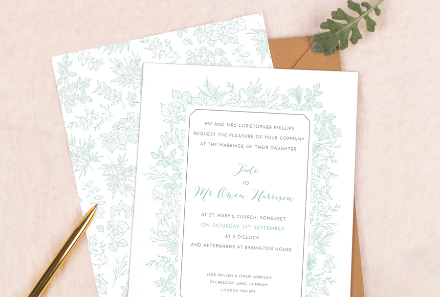 wedding stationery by Rosemood on English-Wedding.com (6)