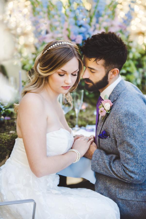 Lush city garden wedding styling ideas on English Wedding, images by Neli Prahova Photography (29)