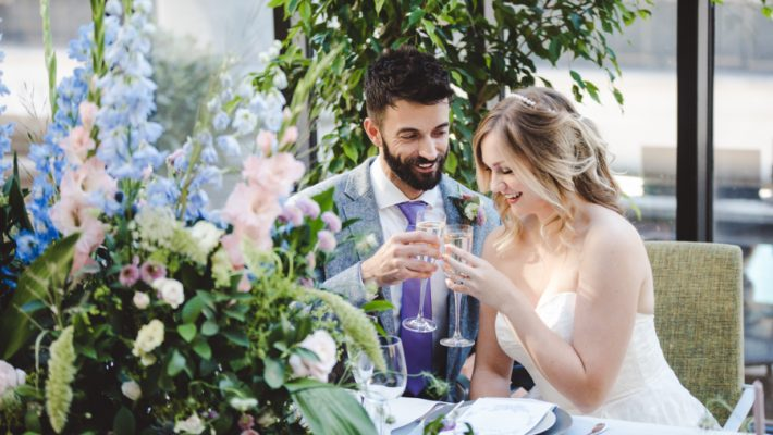 Lush city garden wedding styling ideas on English Wedding, images by Neli Prahova Photography (32)