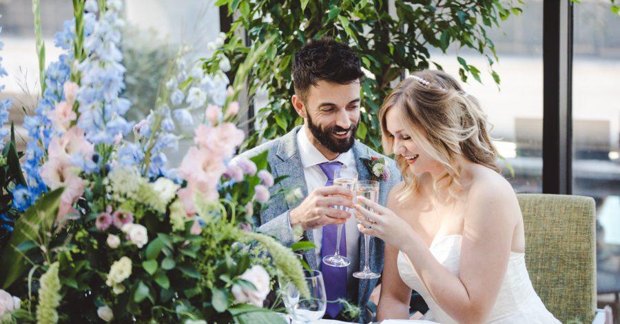 Lush city garden wedding styling ideas on English Wedding, images by Neli Prahova Photography (32)