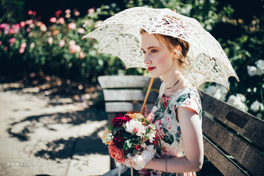 English garden wedding inspiration with hundreds of roses, images by Toby Lowe Photography (10)
