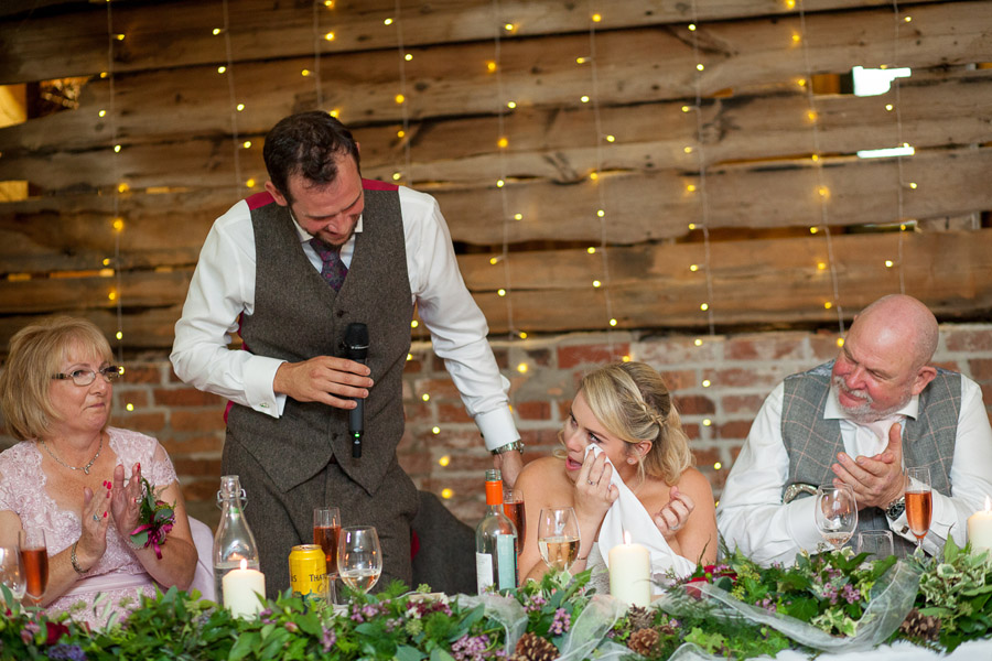 Bristol wedding venue Wellington Barn shines in this stunning real wedding! Image by Martin Dabek Photography (32)