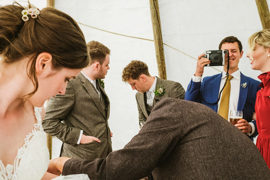 A brilliantly fun wedding story in pictures told by York Place Studios at Appletreewick Craven Arms (26)