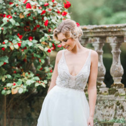 Romantic French chateau wedding inspiration at Hale Park, with Charlotte Wise Photography