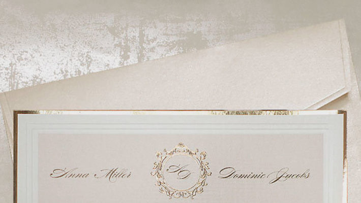 Elegant wedding invitations UK design Polina Perri (2)