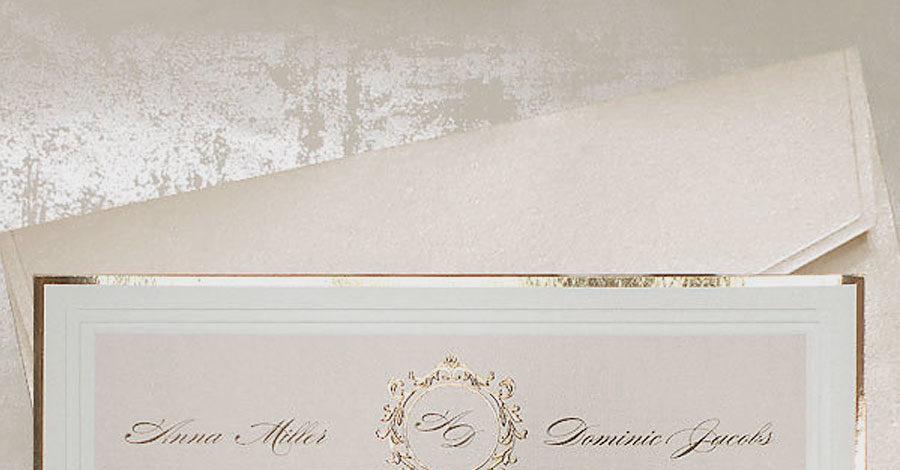 Elegant wedding invitations UK design Polina Perri (2)
