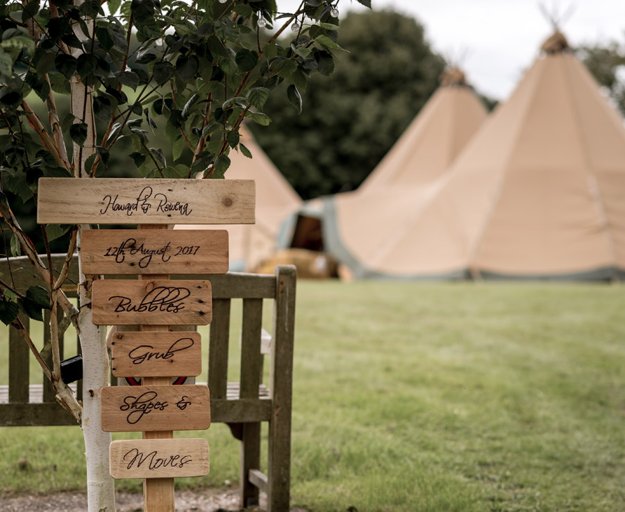 Photos by Robin Goodlad Photography in Dorset of a stunning tipi wedding full of ideas (1)