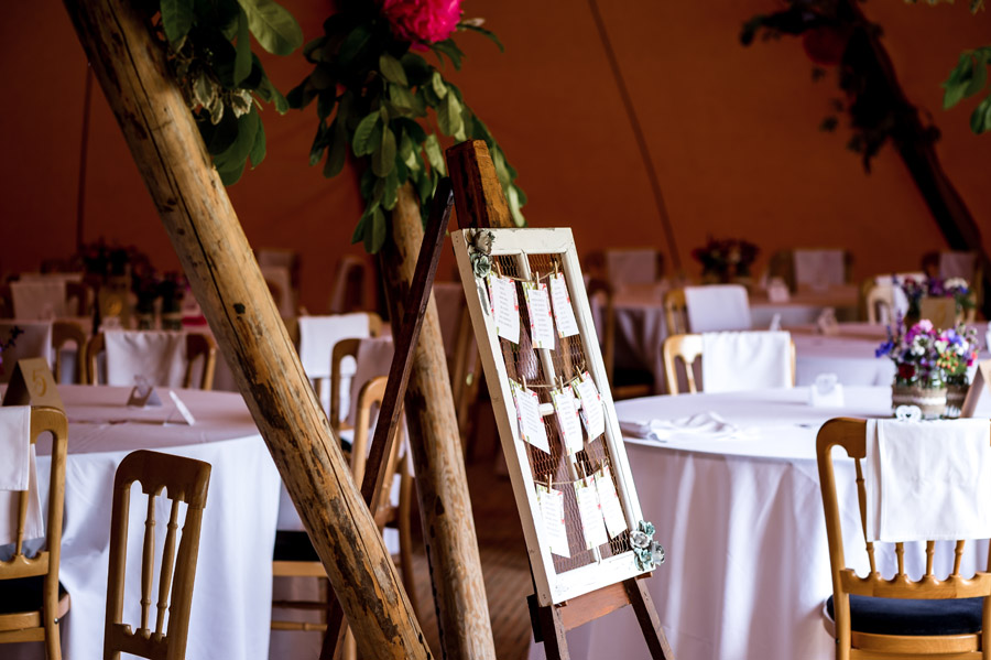 Photos by Robin Goodlad Photography in Dorset of a stunning tipi wedding full of ideas (9)