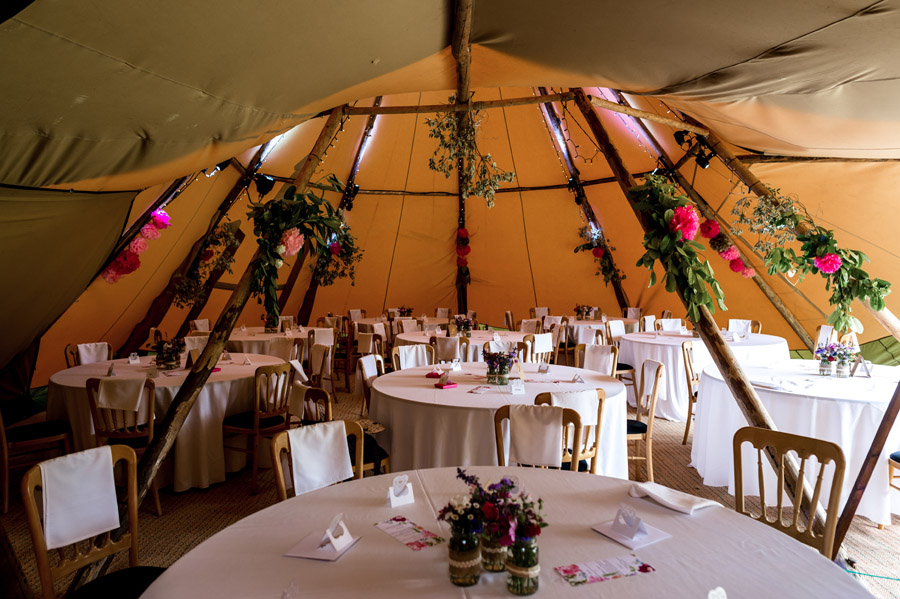 Photos by Robin Goodlad Photography in Dorset of a stunning tipi wedding full of ideas (10)