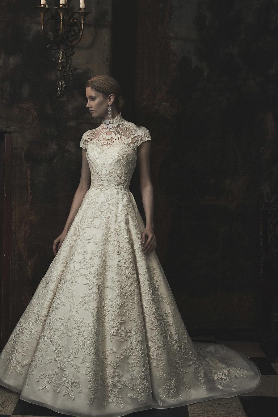 Wedding gowns UK 2019 Phillipa Lepley on English Wedding Blog (11)