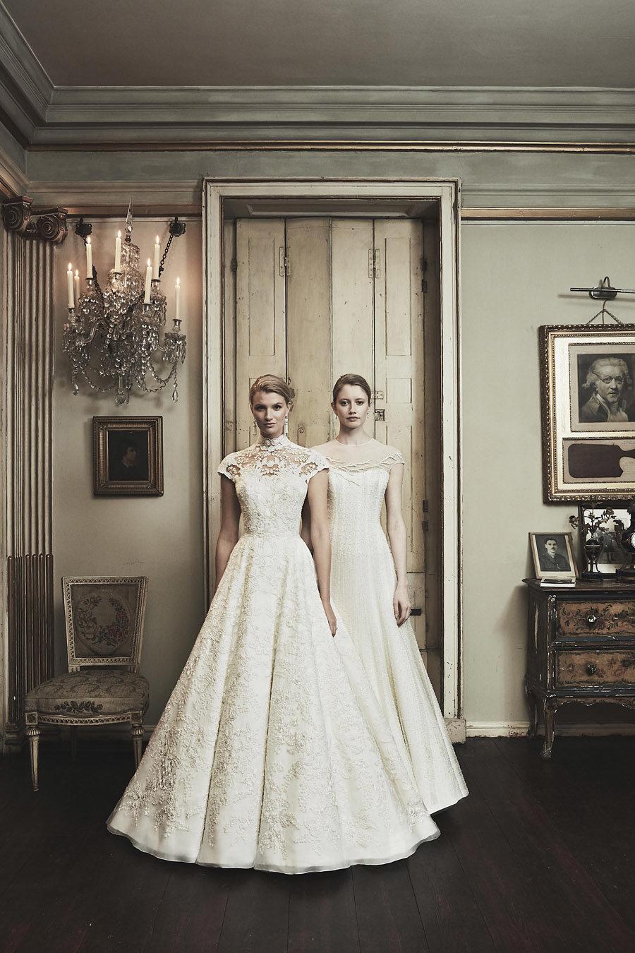 Wedding gowns UK 2019 Phillipa Lepley on English Wedding Blog (33)